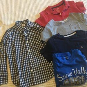 Lot of Baby Gap Boys 5T Shirts